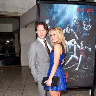 "Stephen Moyer, Anna Paquin in HBO's ""True Blood"" Season 3 Premiere - Red Carpet"