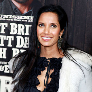 Padma Lakshmi in New York Premiere of 'True Grit'