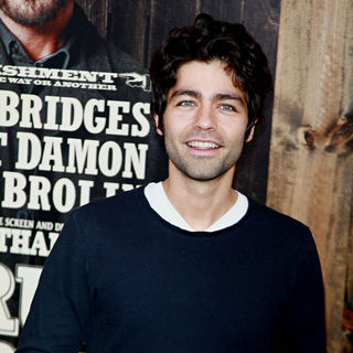 Adrian Grenier in New York Premiere of 'True Grit'