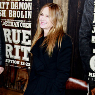 Holly Hunter in New York Premiere of 'True Grit'