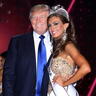 Donald Trump, Erin Brady (II) in Erin Brady Is Crowned 2013 Miss USA