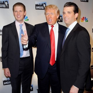Eric Trump, Donald Trump, Donald Trump Jr. in NBC's Celebrity Apprentice: All-Stars Cast Announced