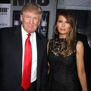 Donald Trump, Melania Trump in Men in Black 3 New York Premiere - Arrivals