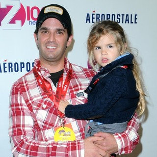 Donald Trump Jr., Kai Madison Trump in Z100's 2011 Jingle Ball Presented by Aeropostale - Arrivals