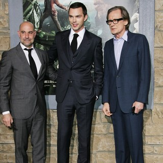 Stanley Tucci, Nicholas Hoult, Bill Nighy in Premiere of Jack the Giant Slayer