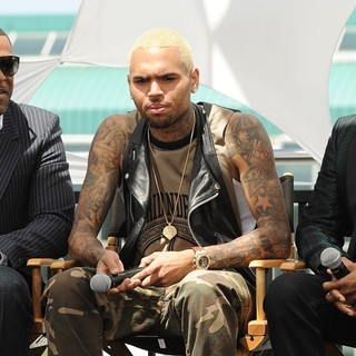 Chris Brown in BET Awards 2013 Press Conference - tucker-brown-wilson-bet-awards-2013-press-conference-01