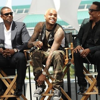 Chris Brown in BET Awards 2013 Press Conference - tucker-brown-wilson-bet-awards-2013-press-conference-02