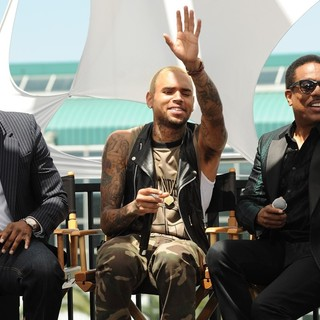Chris Brown in BET Awards 2013 Press Conference - tucker-brown-wilson-bet-awards-2013-press-conference-03