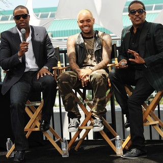 Chris Brown in BET Awards 2013 Press Conference - tucker-brown-wilson-bet-awards-2013-press-conference-04