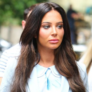Tulisa at Southwark Crown Court