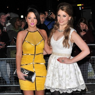 Tulisa, Ella Henderson in Cosmopolitan Ultimate Women of The Year Awards - Arrivals