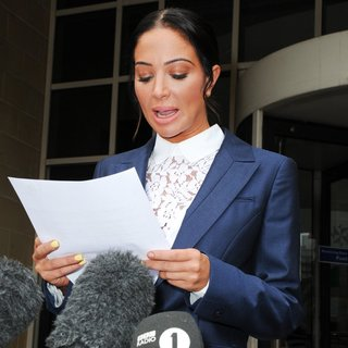 Tulisa Leaves Stratford Magistrates Court After Being Found Guilty of Assault