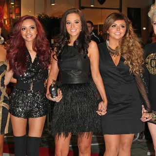 Tulisa, Little Mix in The Twilight Saga's Breaking Dawn Part I UK Film Premiere - Arrivals