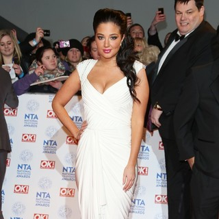 Tulisa in National Television Awards 2013 - Arrivals