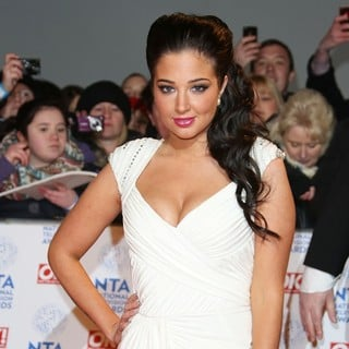 Tulisa in National Television Awards 2013 - Arrivals - tulisa-national-television-awards-2013-02