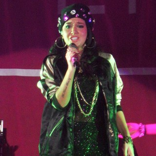 Tulisa in Tulisa Performing Live in Concert as Her UK Tour Start Here Supporting Ne-Yo