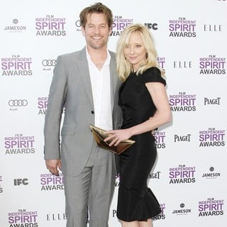 James Tupper, Anne Heche in 27th Annual Independent Spirit Awards - Arrivals