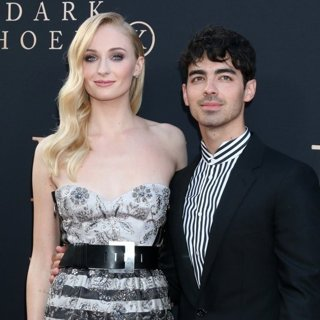 Sophie Turner, Joe Jonas in Dark Phoenix Premiere