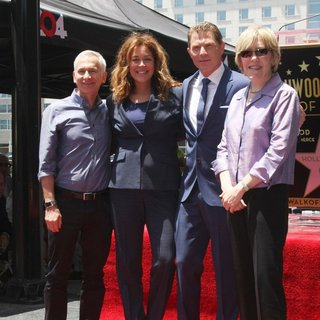 Bob Tuschman, Susie Fogelson, Bobby Flay, Brooke Johnson in Bobby Flay Honored on The Hollywood Walk of Fame