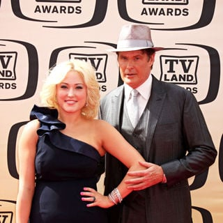 Hayley Hasselhoff, David Hasselhoff in The TV Land Awards 2010