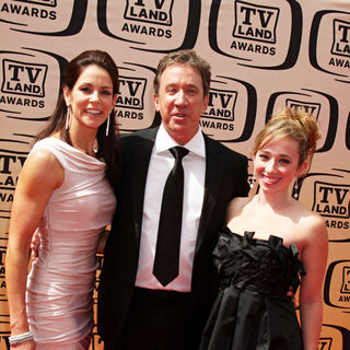 Tim Allen, Jane Hajduk in The TV Land Awards 2010