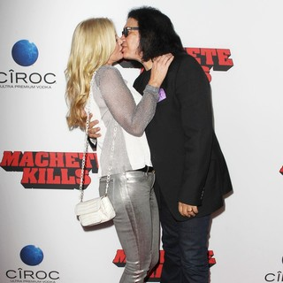 Shannon Tweed, Gene Simmons in Premiere of Open Road Films' Machete Kills