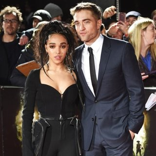 FKA twigs, Robert Pattinson-The Lost City of Z UK Premiere