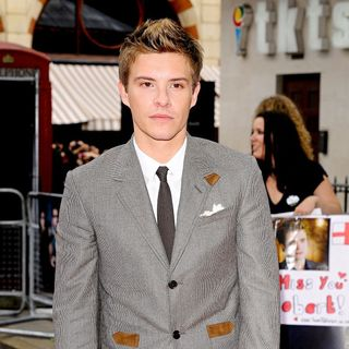 Xavier Samuel in UK Gala Premiere of 'The Twilight Saga's Eclipse'