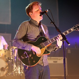 Alex Trimble, Two Door Cinema Club in Two Door Cinema Club Performing Live on Stage During The NME Award Tour Night