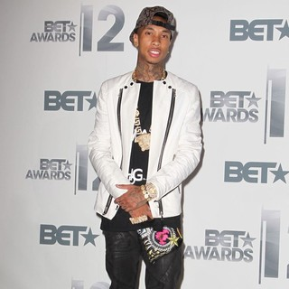 Tyga in The BET Awards 2012 - Press Room