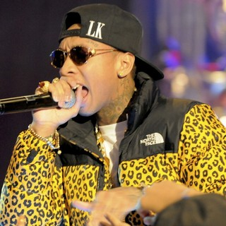 Tyga - BET's 106 and Park New Year's Eve Show - Performance