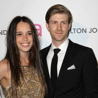 Chelsea Tyler, Jon Foster in 21st Annual Elton John AIDS Foundation's Oscar Viewing Party