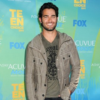 Tyler Hoechlin in 2011 Teen Choice Awards
