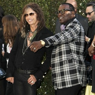 Steven Tyler, Randy Jackson in 21st Annual Elton John AIDS Foundation's Oscar Viewing Party