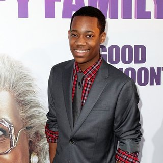 Tyler James Williams in Los Angeles Premiere of Tyler Perry's Madea's Big Happy Family