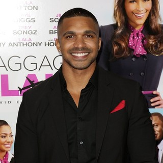 Tyler Lepley in Baggage Claim Premiere