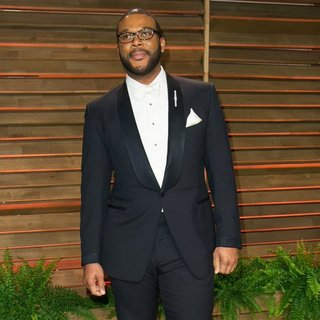 Tyler Perry in 2014 Vanity Fair Oscar Party - tyler-perry-2014-vanity-fair-oscar-party-04
