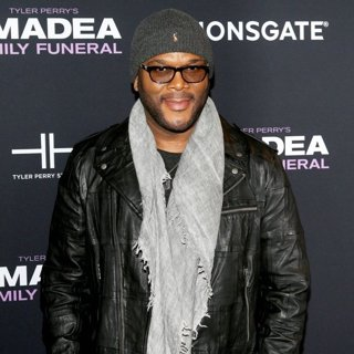 Tyler Perry in Screening of Tyler Perry's A Madea Family Funeral - Arrivals