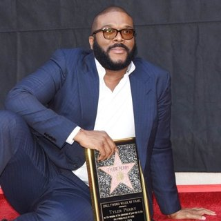 Tyler Perry Honored with A Star on The Hollywood Walk of Fame Ceremony
