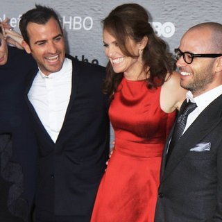Liv Tyler, Justin Theroux, Amy Brenneman, Damon Lindelof in The Leftovers New York Premiere - Red Carpet Arrivals