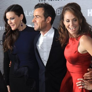 Liv Tyler, Justin Theroux, Amy Brenneman in The Leftovers New York Premiere - Red Carpet Arrivals