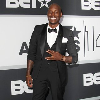 Tyrese Gibson in The 2014 BET Awards - Press Room