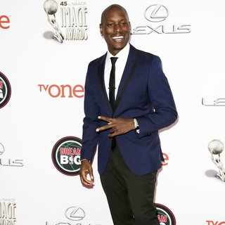 Tyrese Gibson in 45th NAACP Image Awards - Arrivals