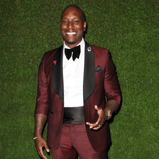 Tyrese Gibson in 75th Annual Golden Globes Awards - Roaming