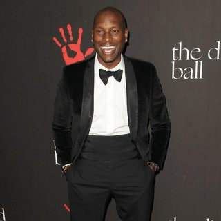 Tyrese Gibson in Rihanna's First Annual Diamond Ball Benefitting The Clara Lionel Foundation