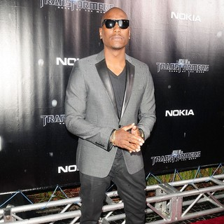 Tyrese Gibson - The Special Red Carpet VIP Screening of Transformers Dark of the Moon - After Party Arrivals
