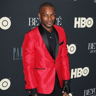 Tyson Beckford in Beyonce: Life Is But a Dream New York Premiere