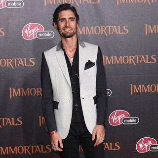 Tyson Ritter in Immortals 3D Los Angeles Premiere