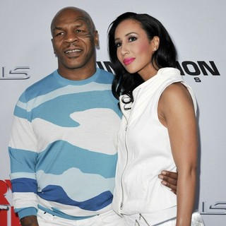 Mike Tyson, Lakiha Spicer in Los Angeles Premiere of Scary Movie 5