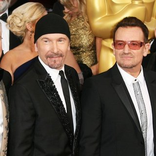 U2 - The 86th Annual Oscars - Red Carpet Arrivals